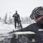 Ice Freediving - na nádech pod ledem