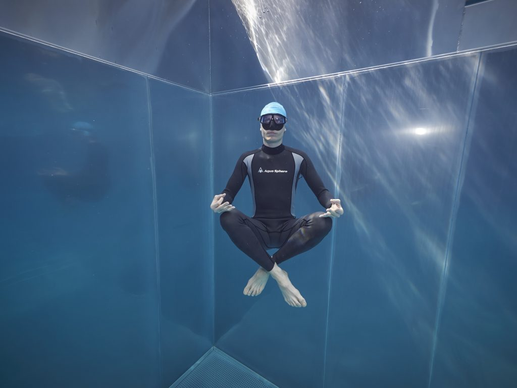 Freediving bazén pool train