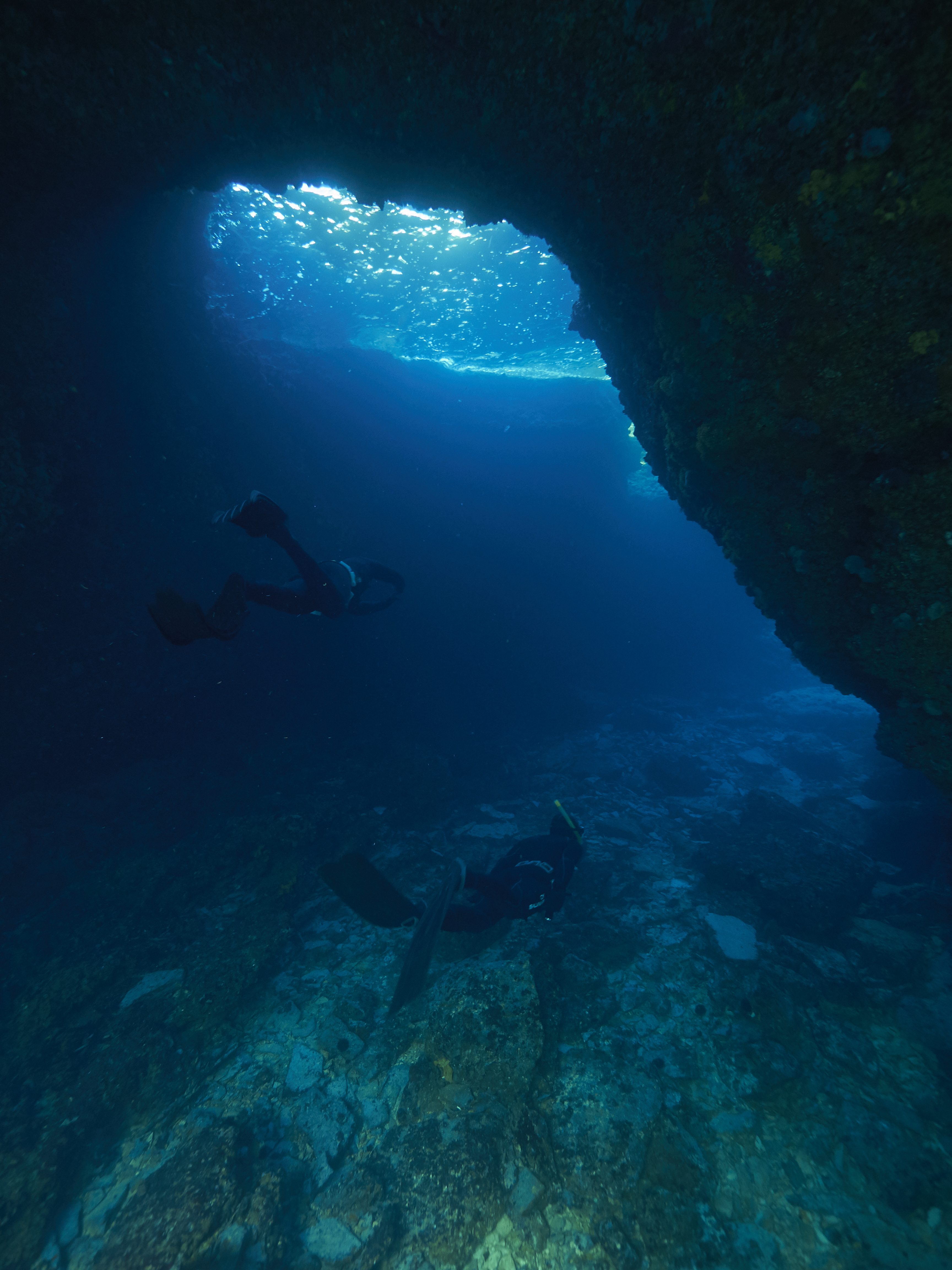Brbiscica cave freediving croatia