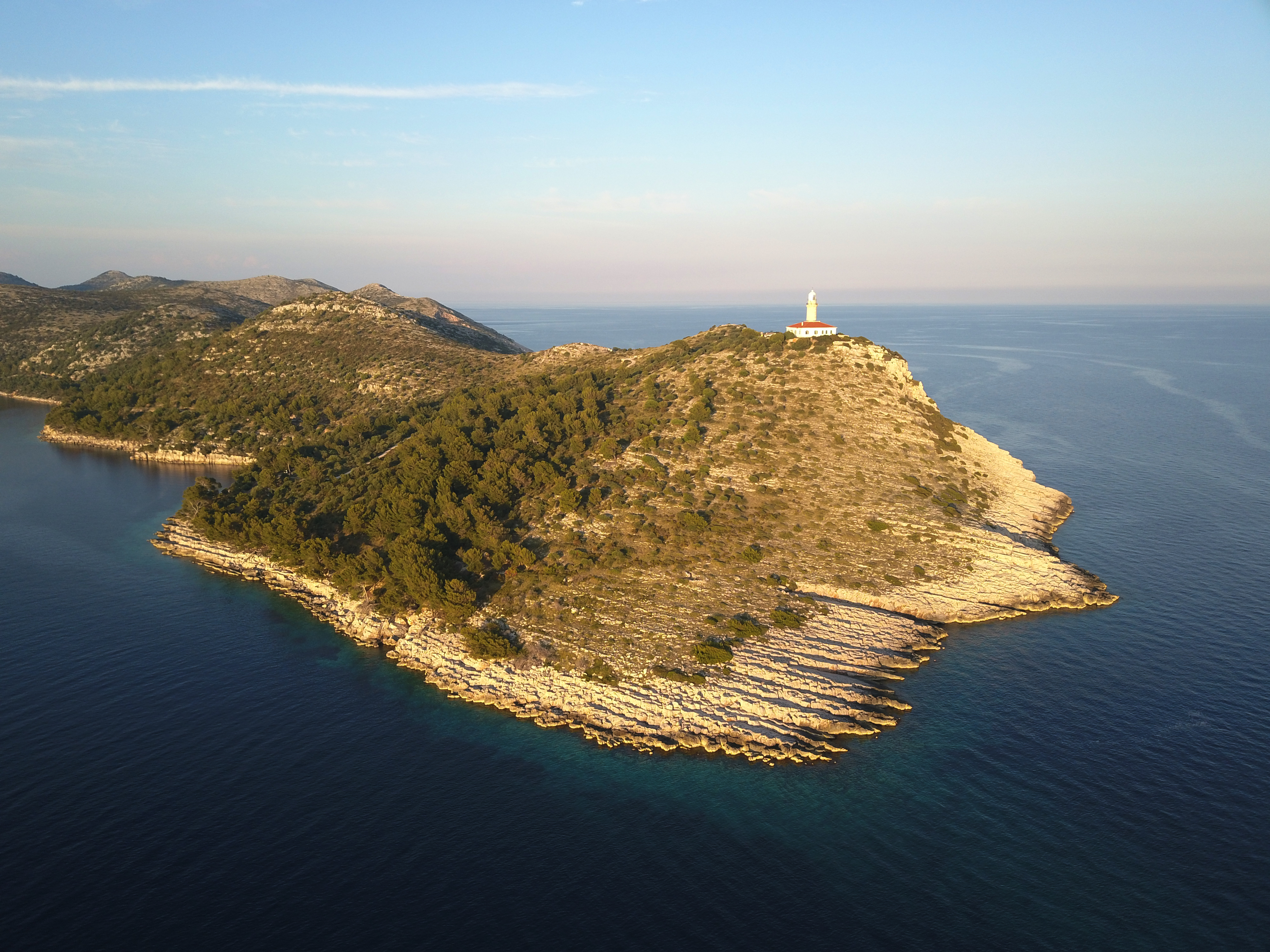 Lastovo Struga Lighthouse