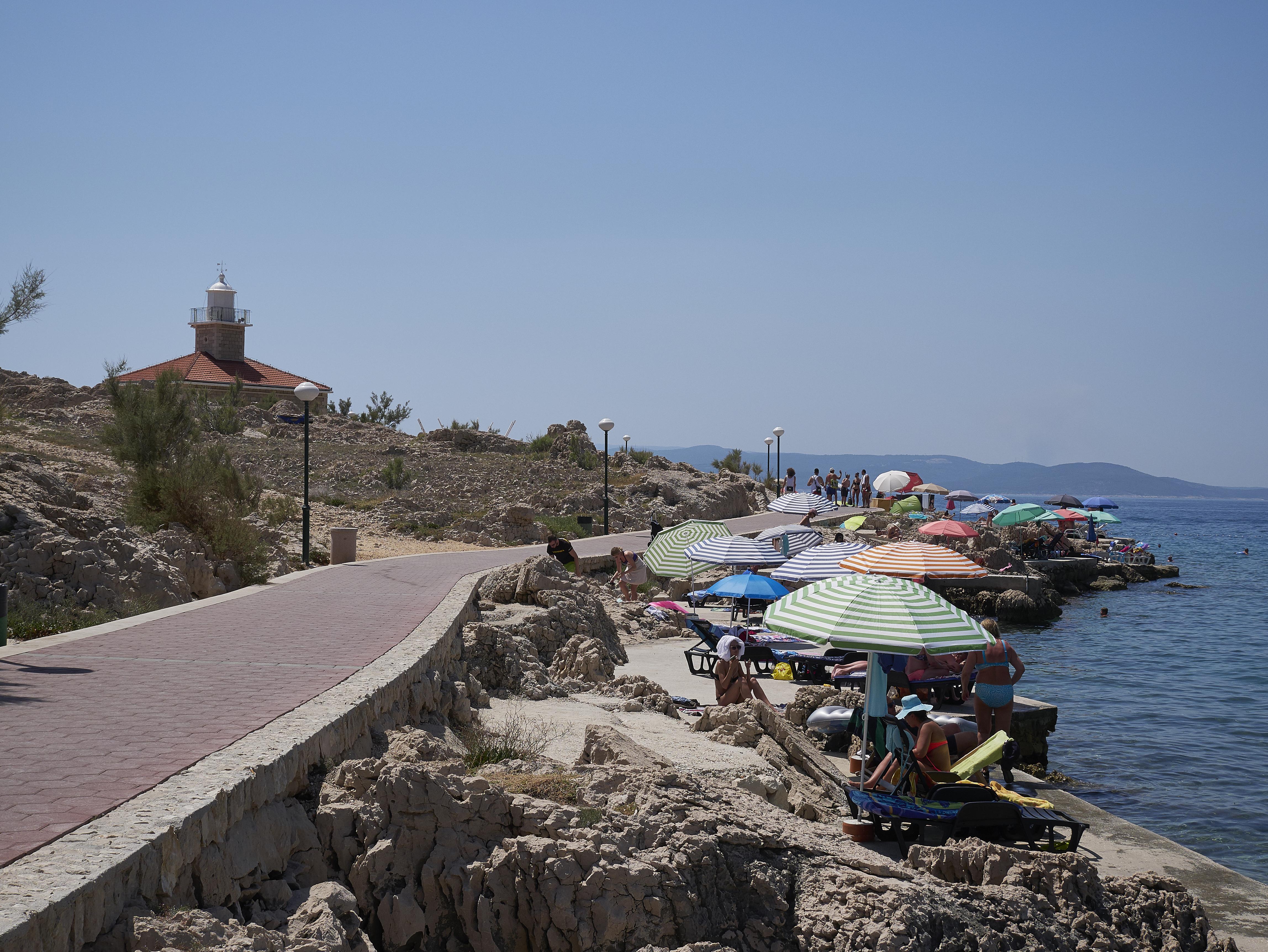 Freediving Makarska Lighthouse Sveti Petar