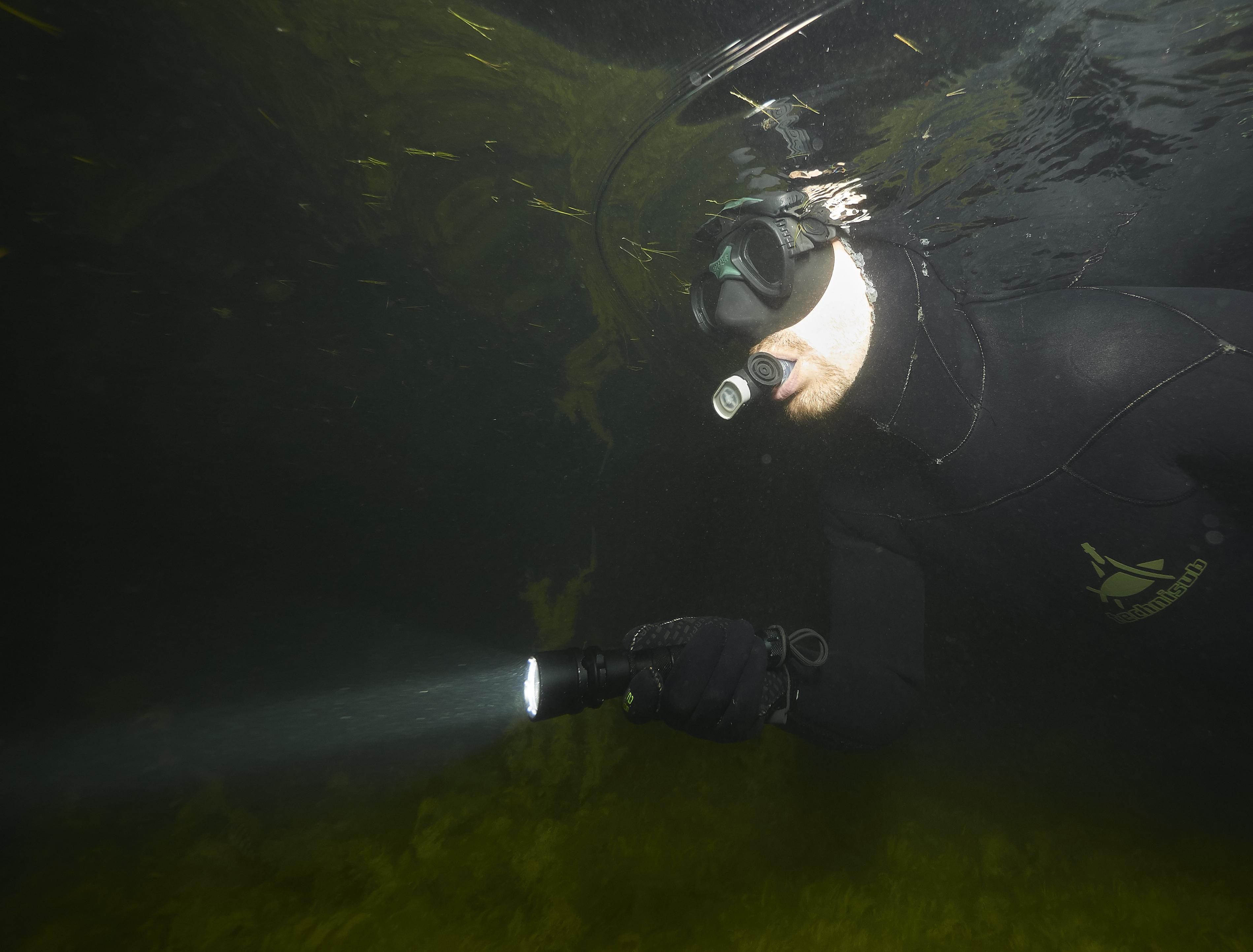 Milada freediving kurz noční