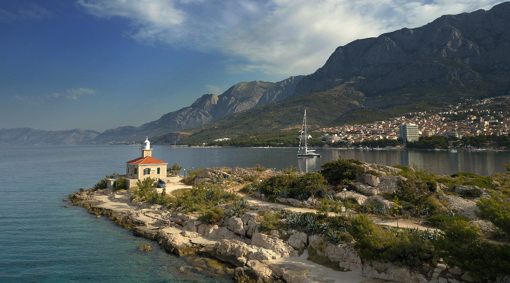 Sveti Petar Lighthouse Makarska Freediving
