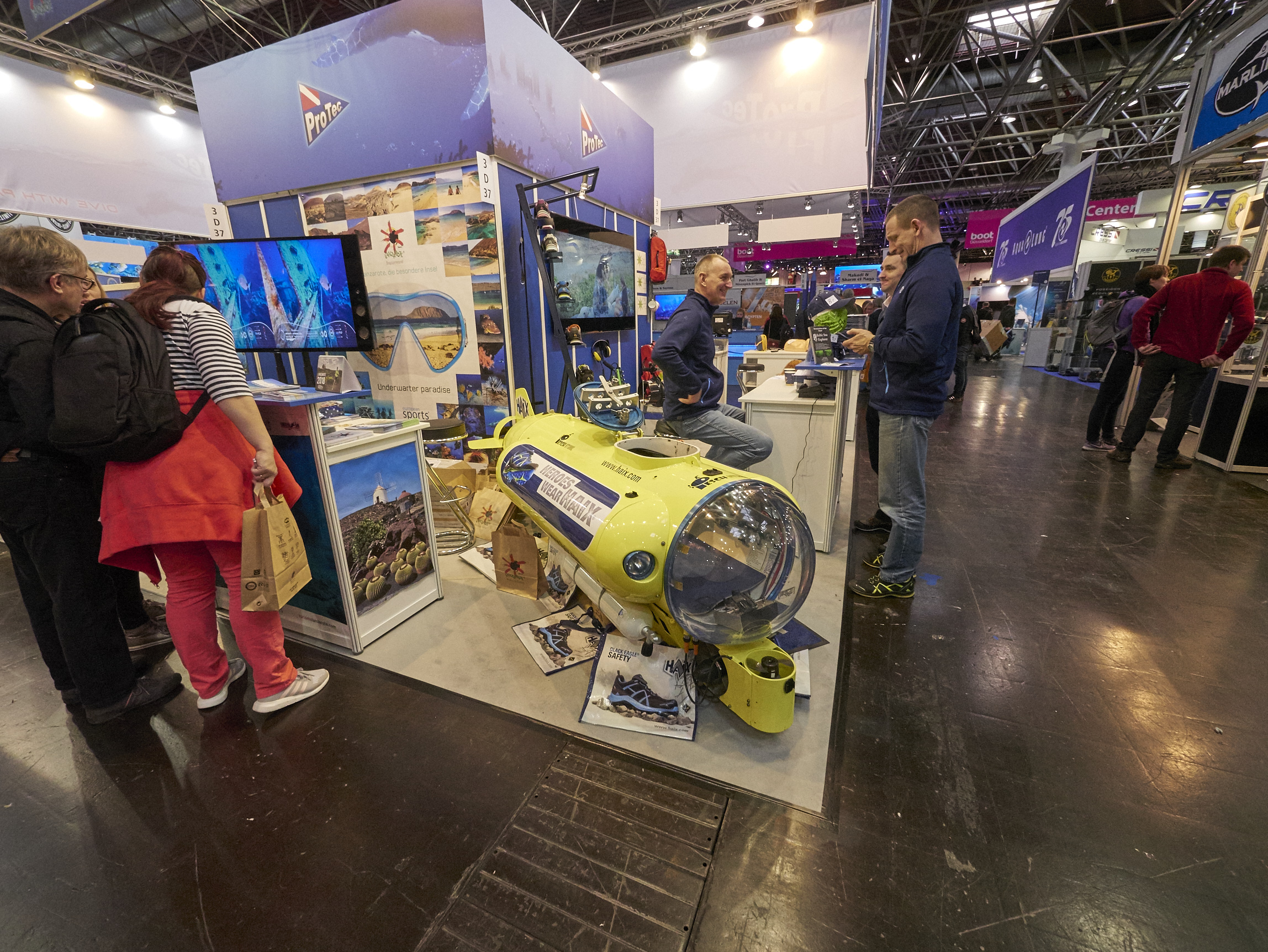 boot 2018 Düsseldorf dive center