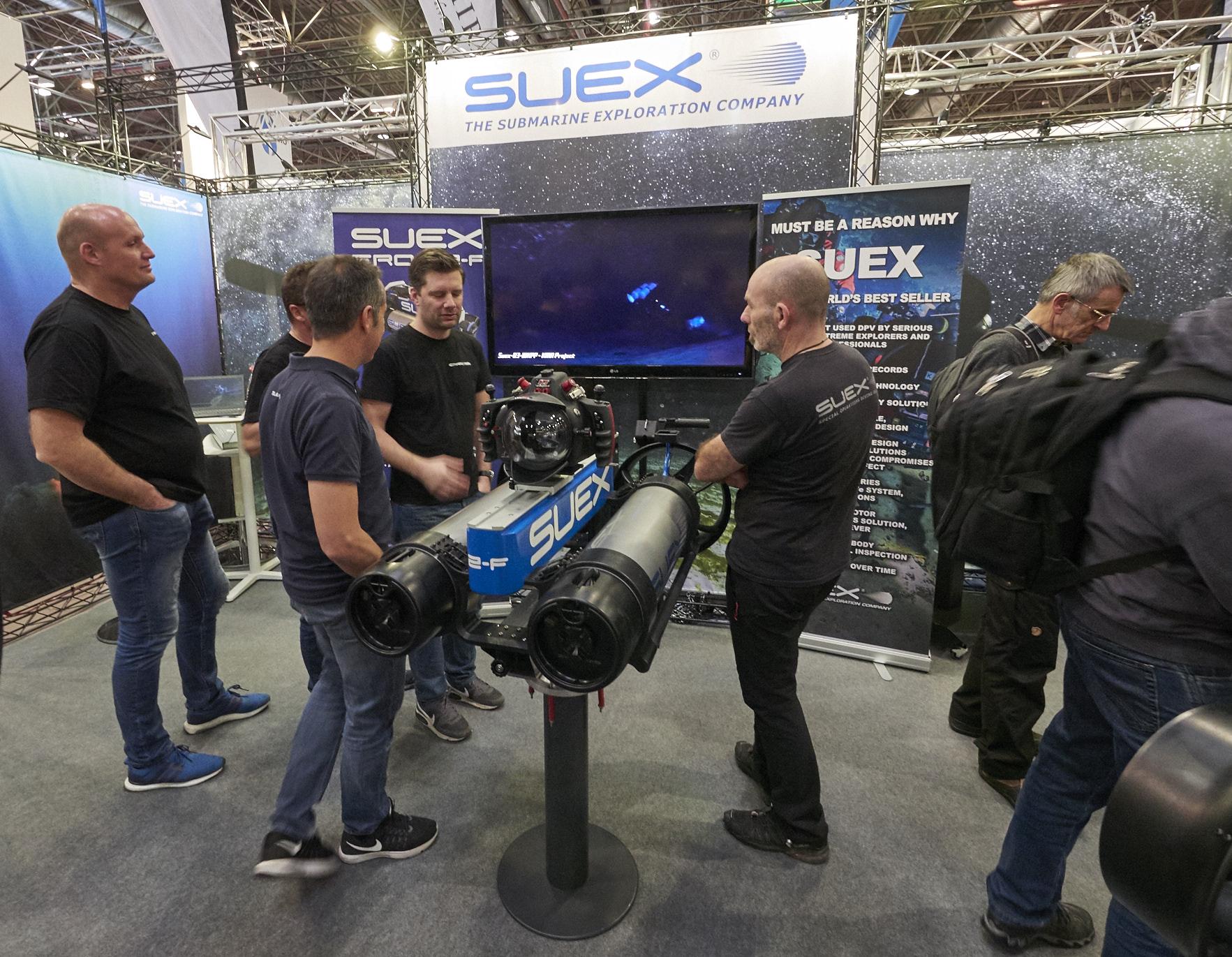 SUEX boot 2018 Düsseldorf scooter dpv