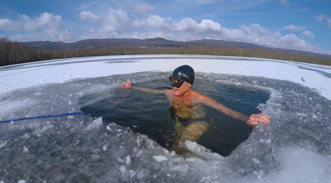 Ice Freediving