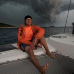 Freediving yacht