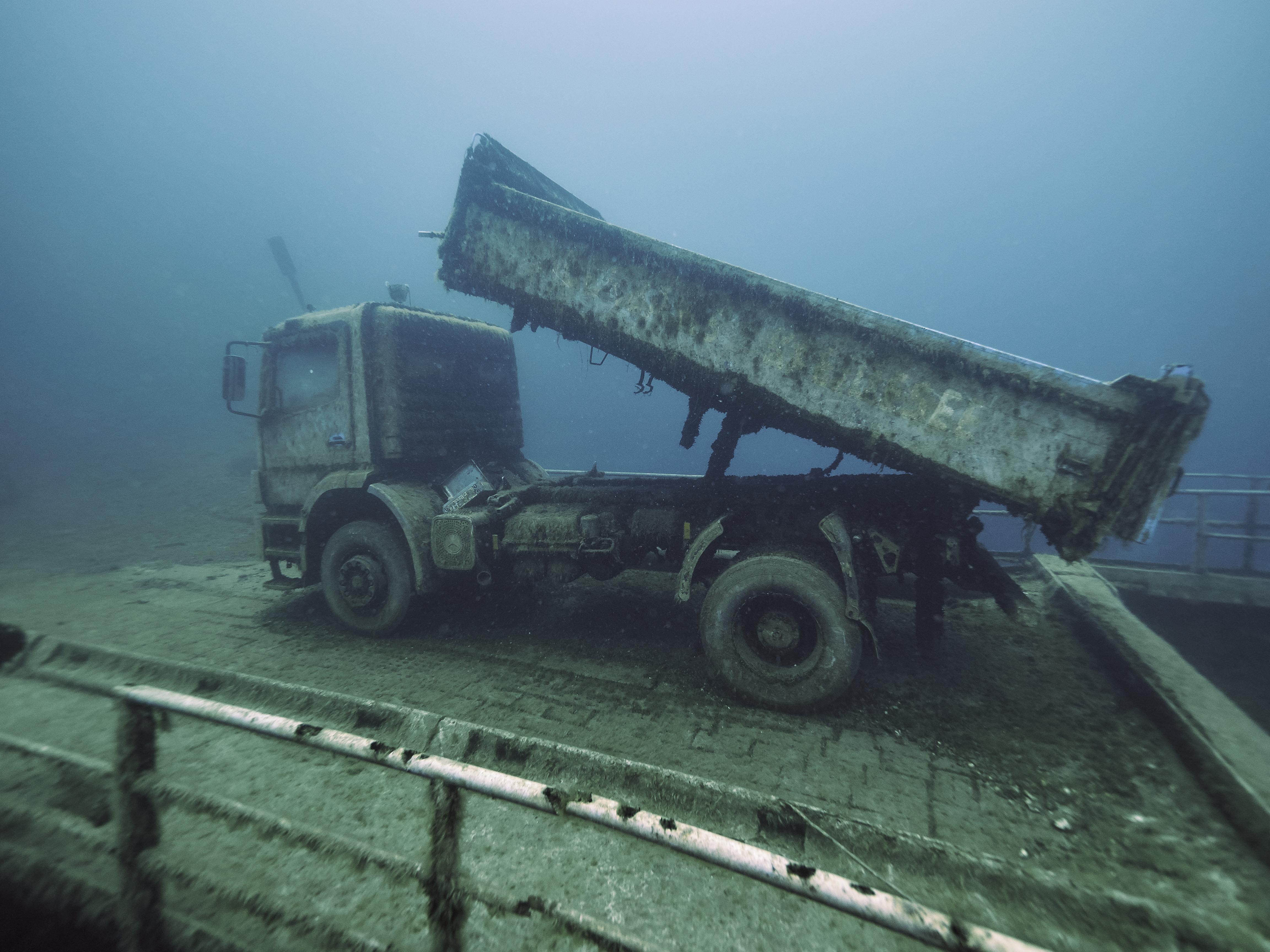 freediving hemmoor kreidesee PKW rampe