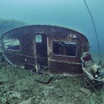 Freediving Hemmoor Kreidesee Wohnwagen