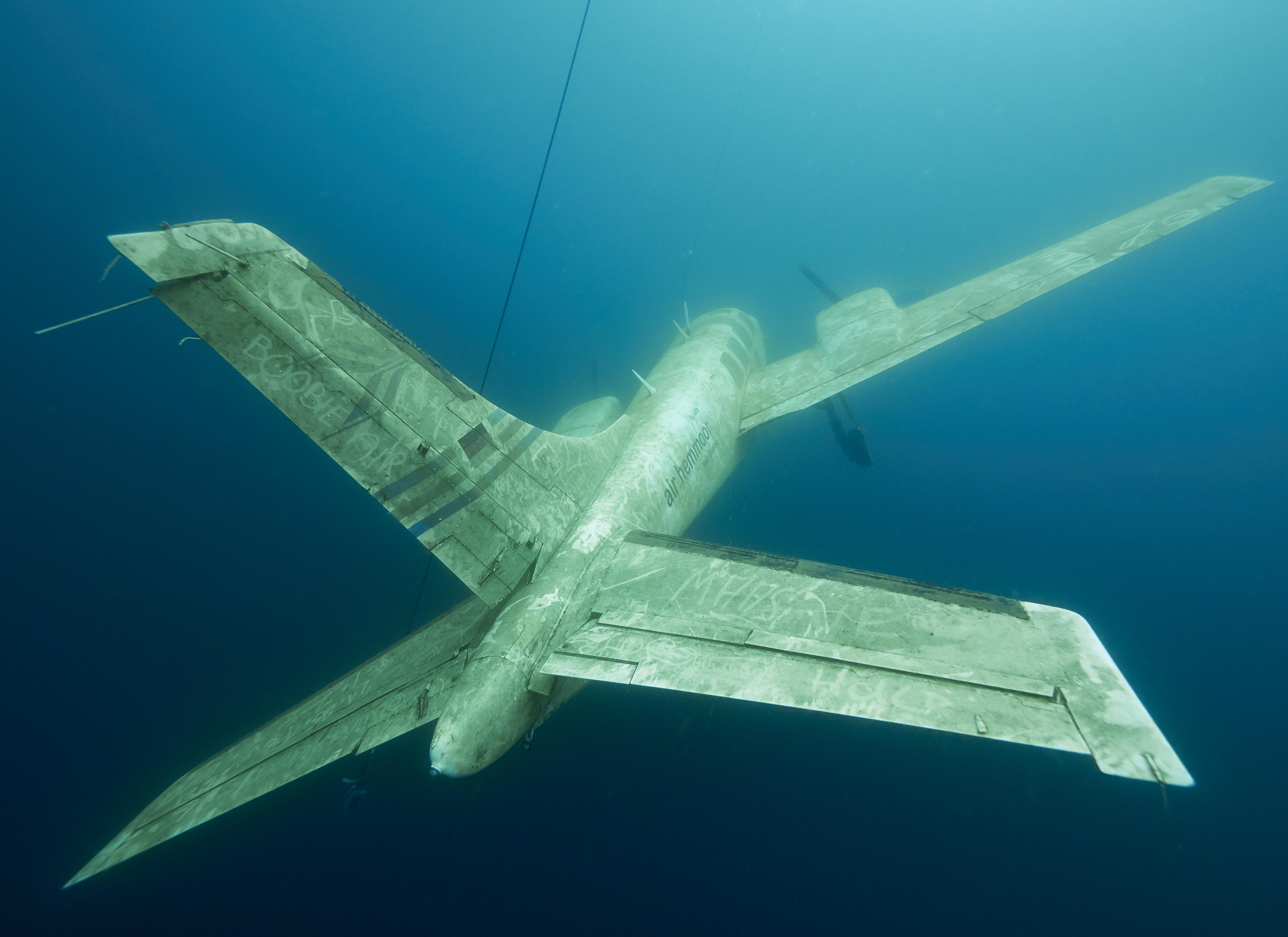 Freediving Kreidesee Hemmoor - Piper Aircraft P601