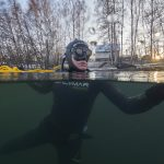 Ice freediving Barbora 2019