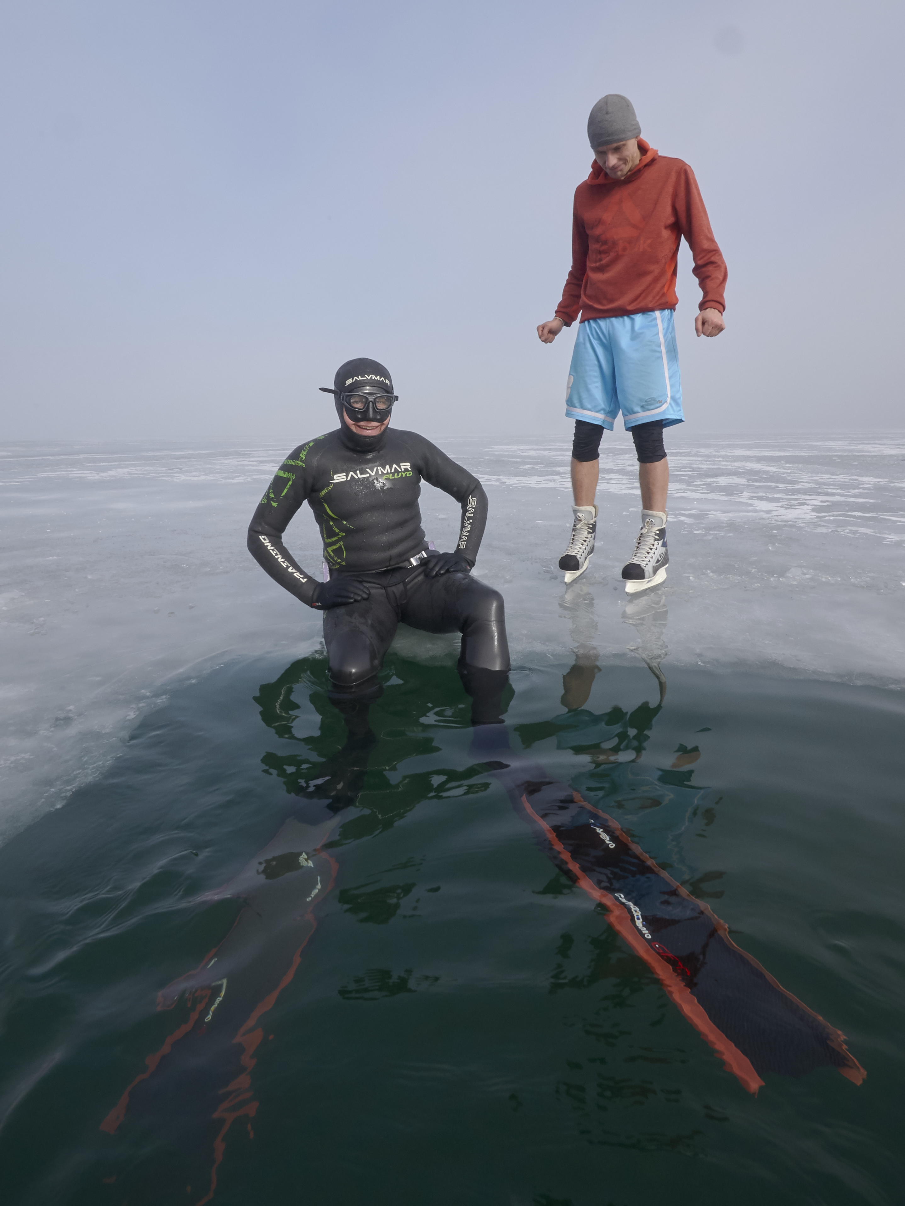 Ice Freediving Barbora Czech