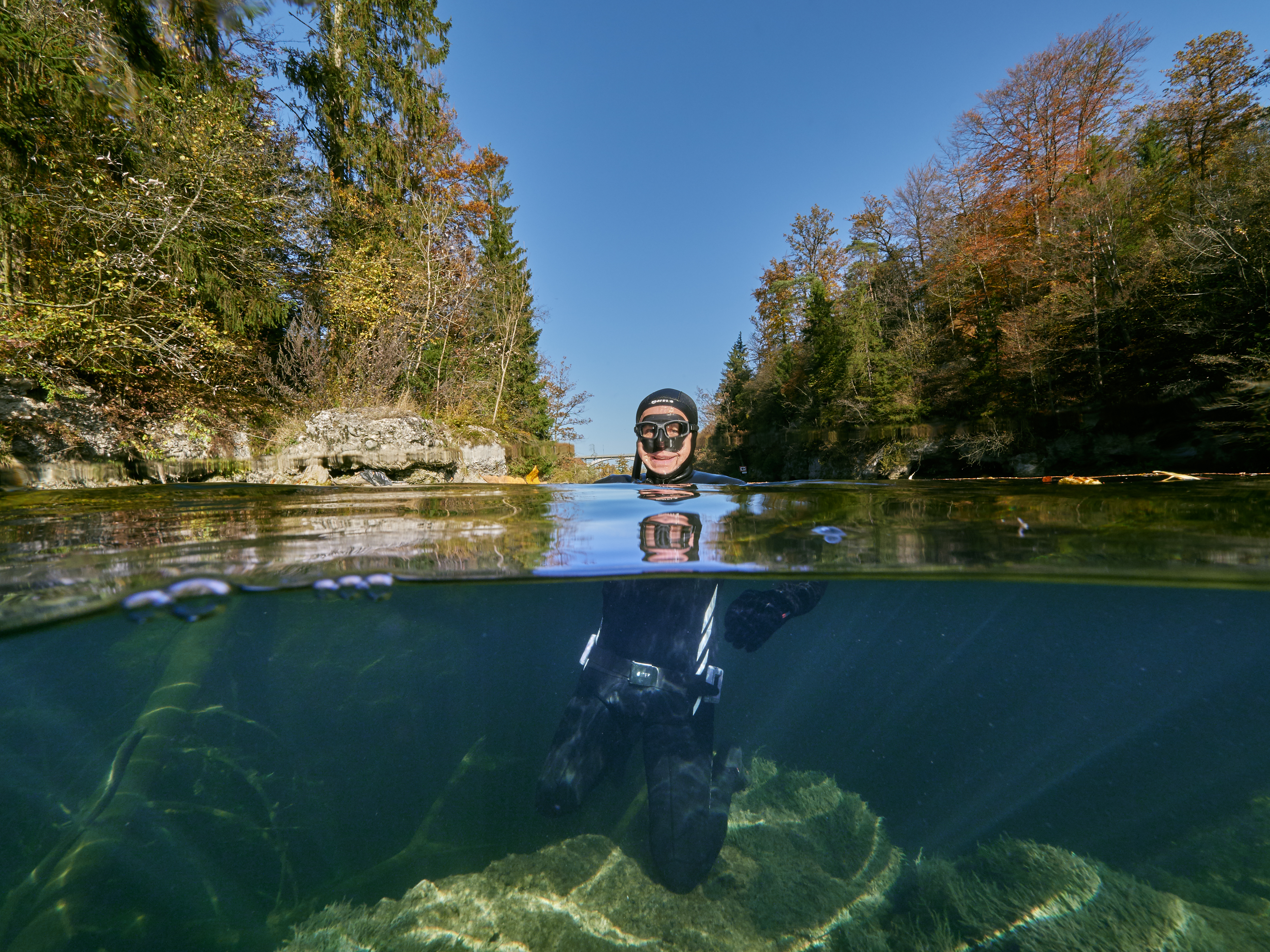 Traun / Traunfall - freediving