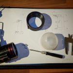 Dome Diffuser Archon W40VR 3D print