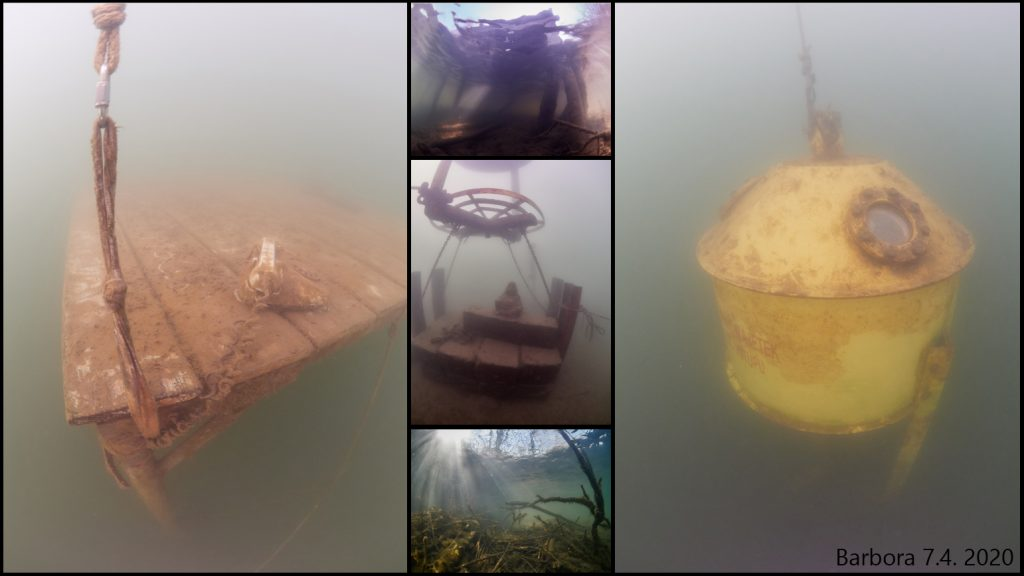 Barbora - freedive - freshwater