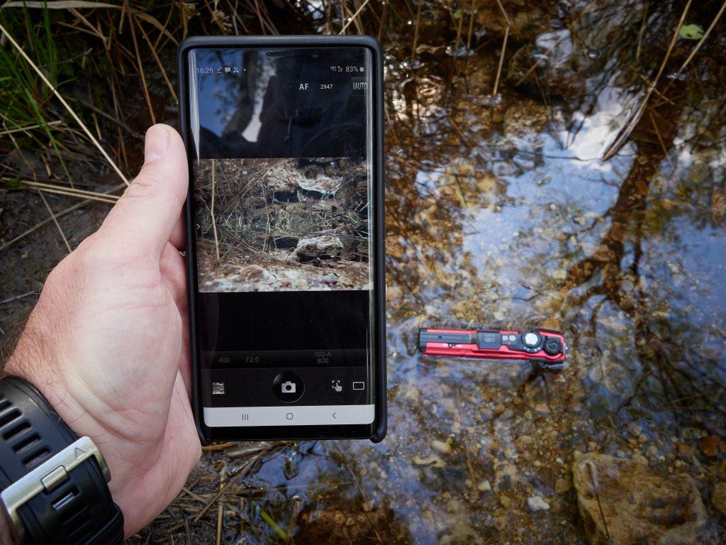 Olympus TG-6 Underwater App Mobile