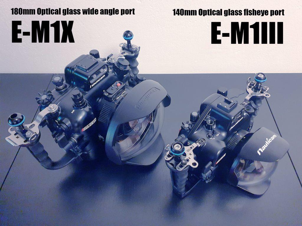Nauticam NA-EM1X vs NA-EM1III Olympus housing OM-D