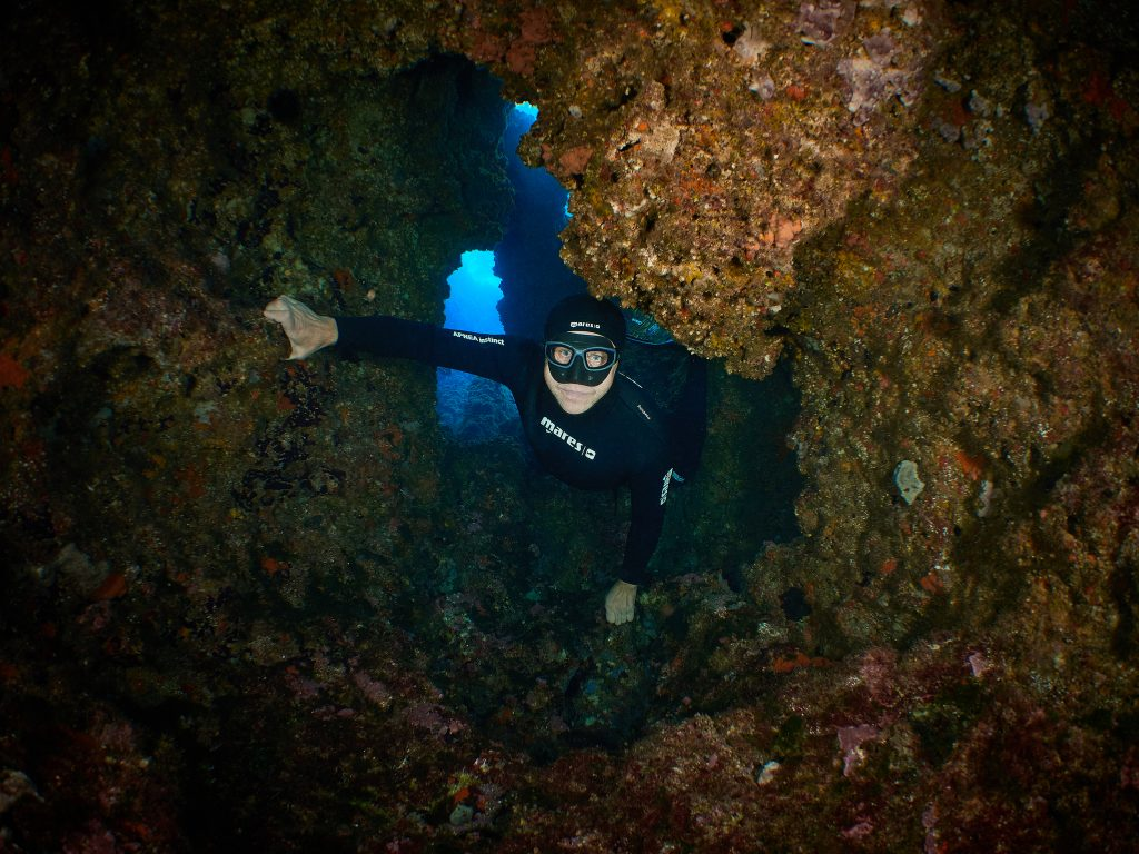 Freediving Illes Medes cave